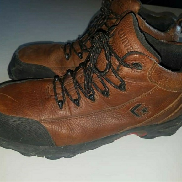 54f5b0856984 Converse Other - LEATHER CONVERSE STEEL TOE WORK BOOTS